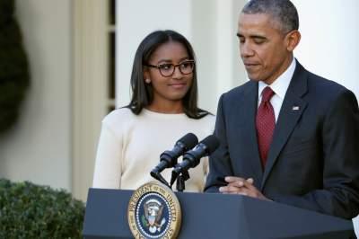 Дочь Барака Обамы