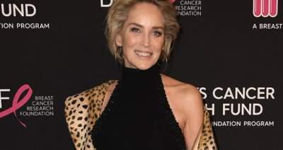 60-летняя Шерон Стоун удивила стройной фигурой