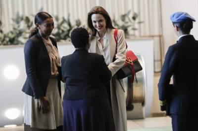 Анджелина Джоли выступила на заседании ООН