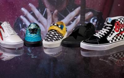Дэвид Боуи вдохновил создателей молодежной обуви