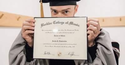 Джастин Тимберлейк получил степень доктора наук